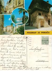 With love from Poreca Yugoslavia