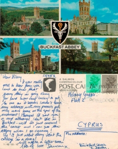 With love from Buckfast Abbey