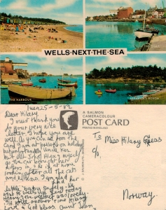 With love from Wells-Next-The-Sea