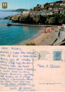 With love from Looe, Cornwall