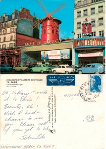 With love from Paris 1984