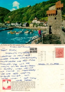 with love from Lynmouth