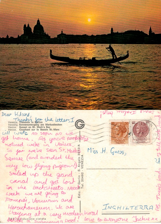 With love from Venice 1977