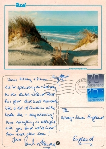 With love from Texel 1995