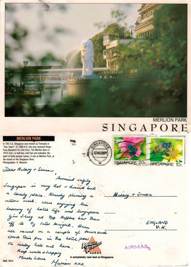 with love from Singapore