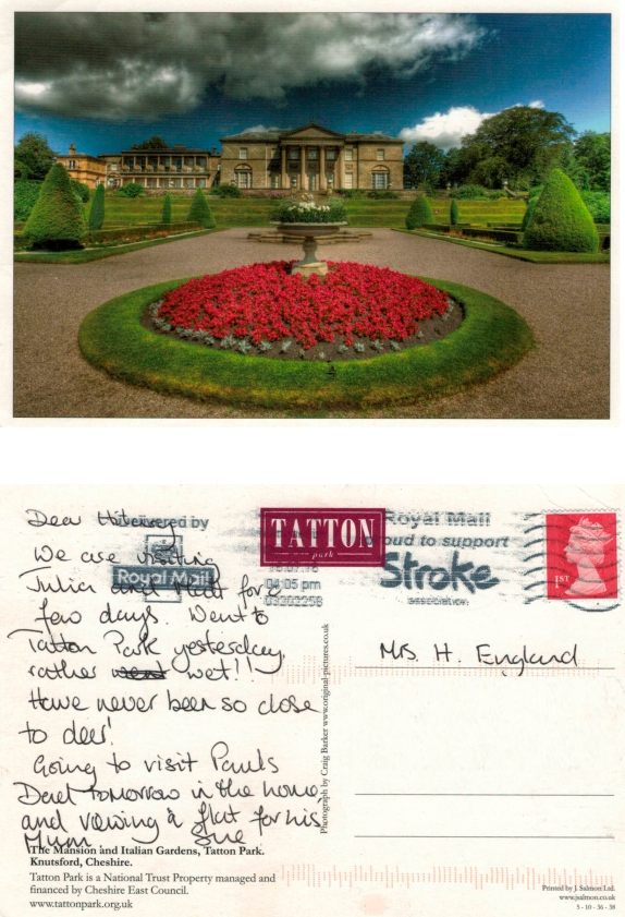with love from Tatton